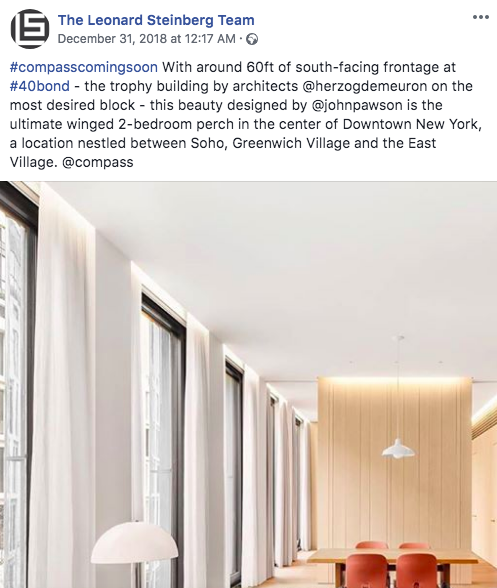 property features facebook real estate posts
